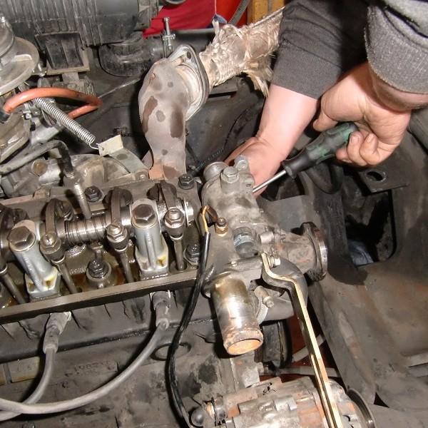 Reparatur verbrenner Motor