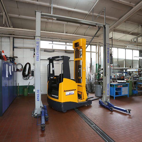 Reparature RMFT Werkstatt