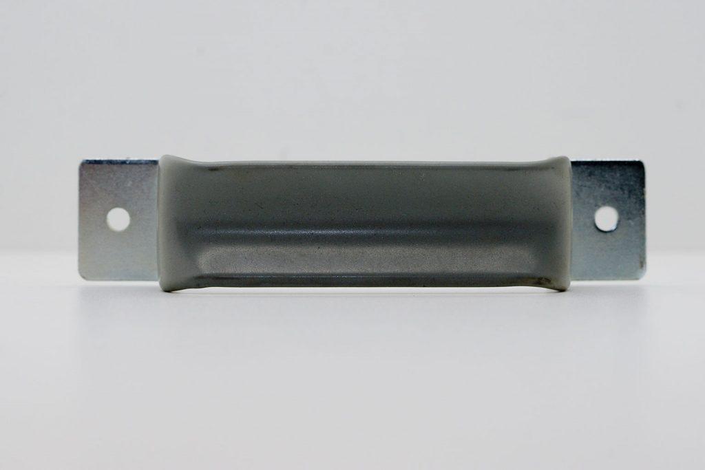 Handgriff aus Stahl mit Gummibeschichtung