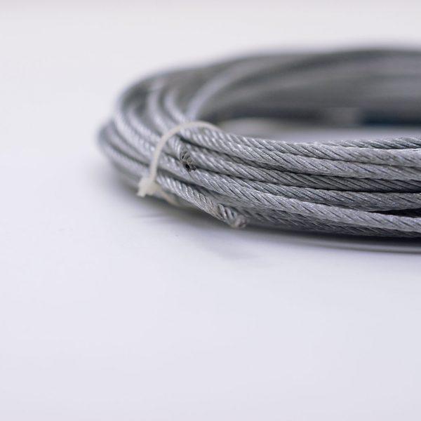 Verzinktes Stahlseil mit PP-Kern 3mm
