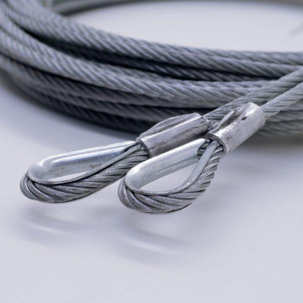 Verzinktes Stahlseil mit PP-Kern 5mm
