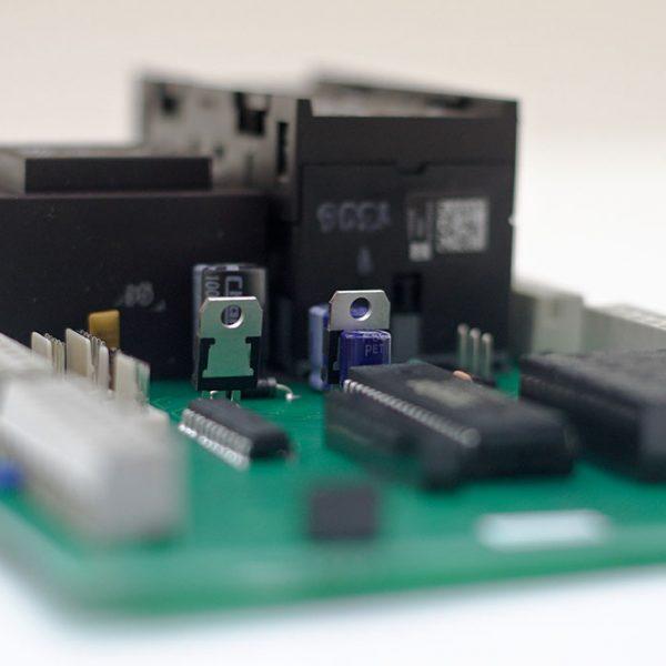 Torsteuerungsplatine MFZ- Antriebe CS 300 ME für mechanische Endschalter (Nockenendeschalter)
