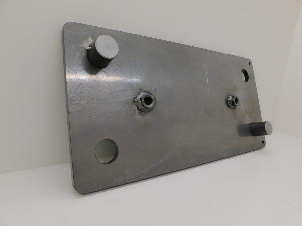 Montageplatte Anfahrpuffer