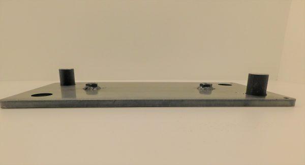 Montageplatte für Anfahrpuffer